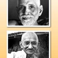 Gandhi e Ramana
